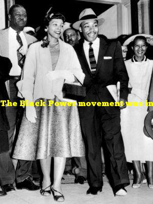 The Black Power movement was inspired by whose autobiography?