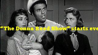"""""""The Donna Reed Show"""" starts every episode with Donna doing what?"""
