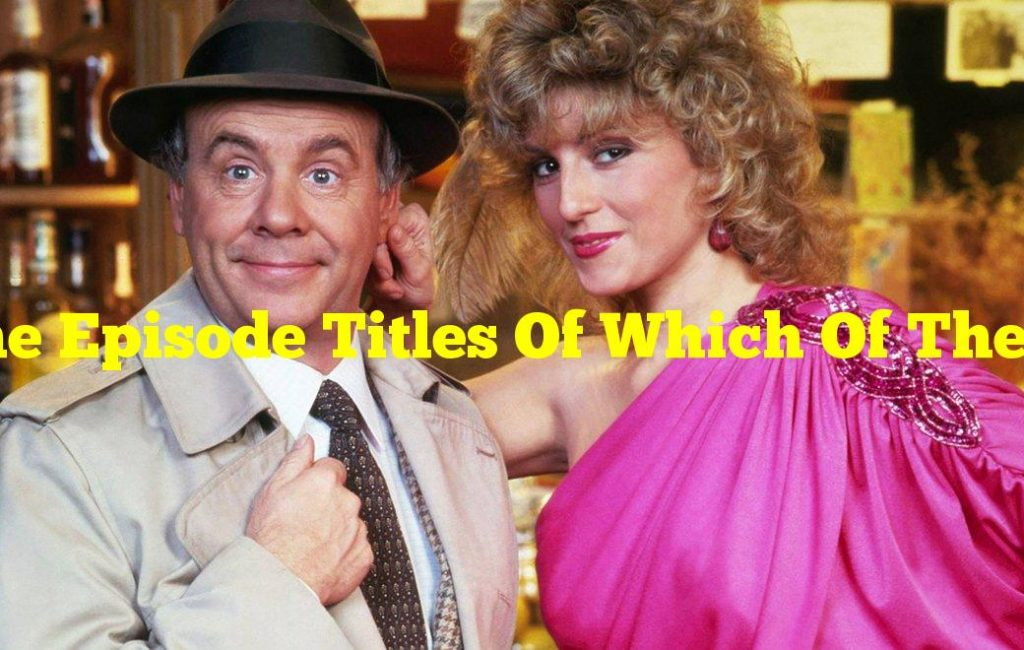 """The Episode Titles Of Which Of These Shows Are Mostly Named As """"The One With The""""?"""