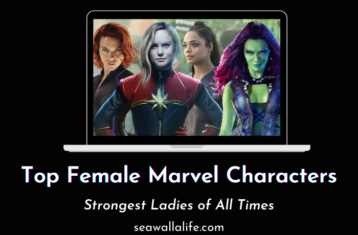Top 17 Female Marvel Characters (All Time Strongest)