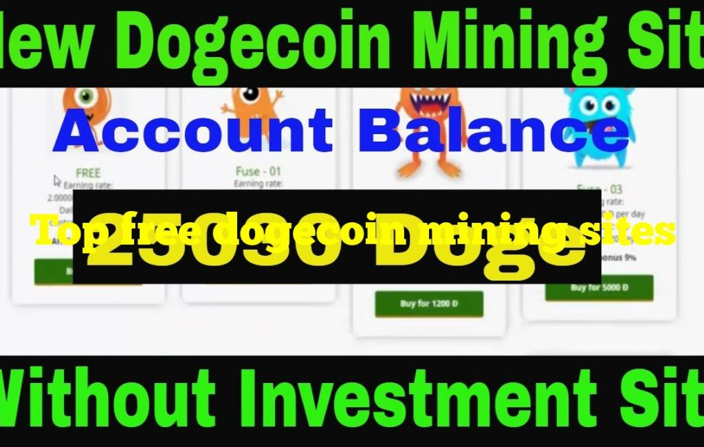 Top free dogecoin mining sites