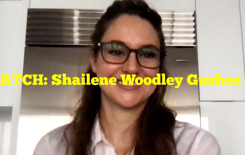 WATCH: Shailene Woodley Gushes Over Fiancé Aaron Rodgers