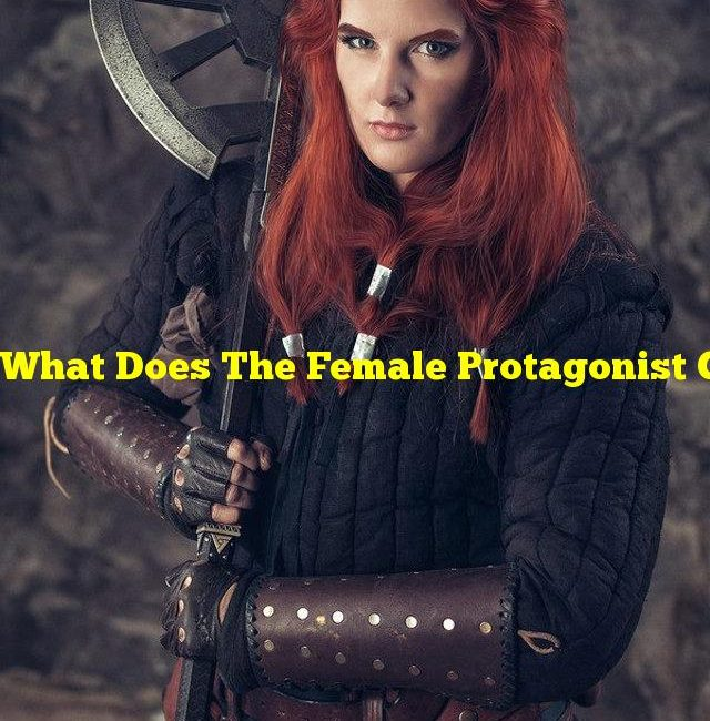 What Does The Female Protagonist Gift The Male ?