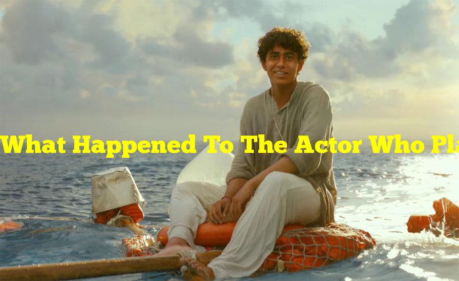 What Happened To The Actor Who Played Pi In Life Of Pi?