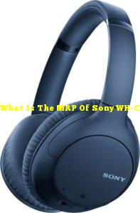 What Is The MRP Of Sony WH-CH710N Active Noise Cancellation Enabled Bluetooth Headset?