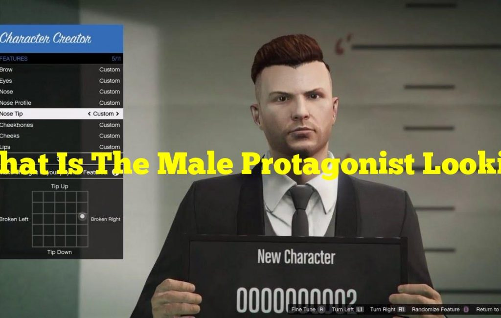 What Is The Male Protagonist Looking For Online?