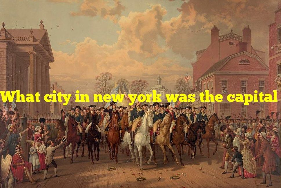 What city in new york was the capital of the united states from 1785 to 1790