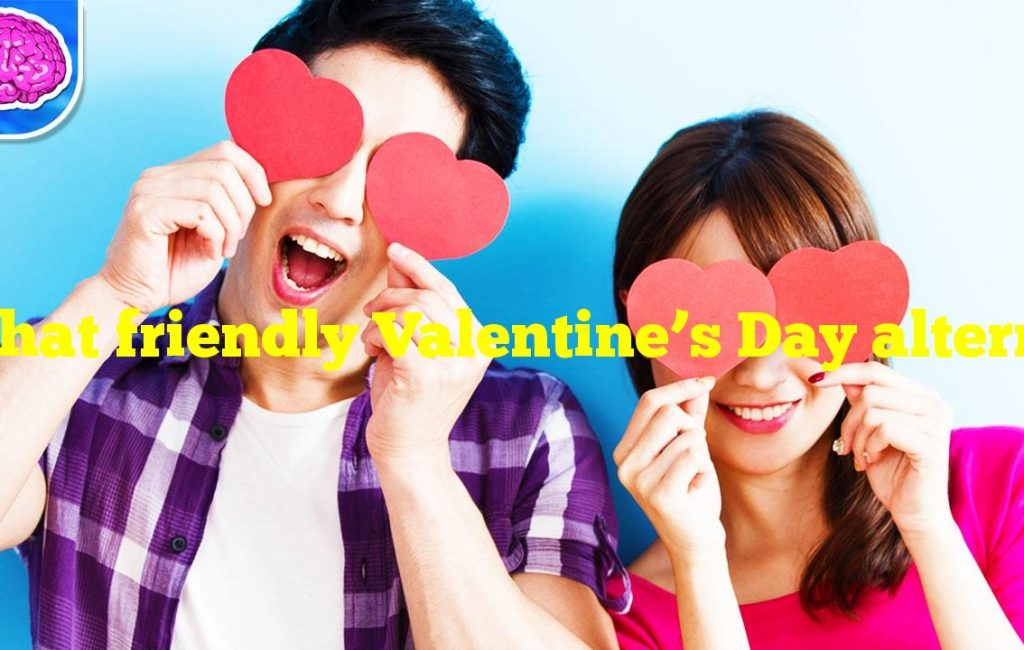 What friendly Valentine's Day alternative is celebrated on February 13?