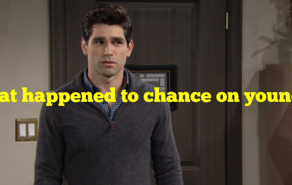 What happened to chance on young and restless