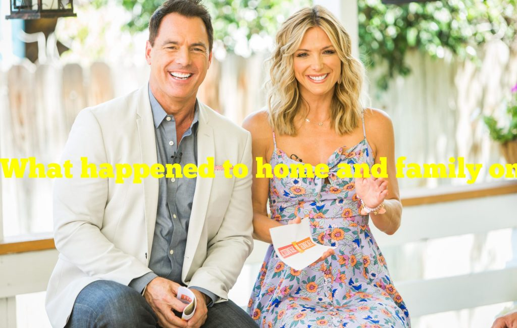 What happened to home and family on hallmark channel?