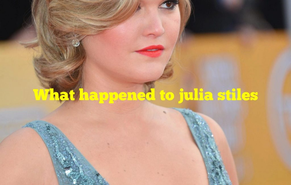 What happened to julia stiles