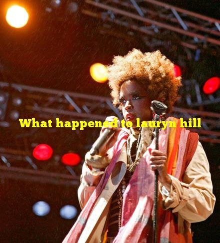 What happened to lauryn hill