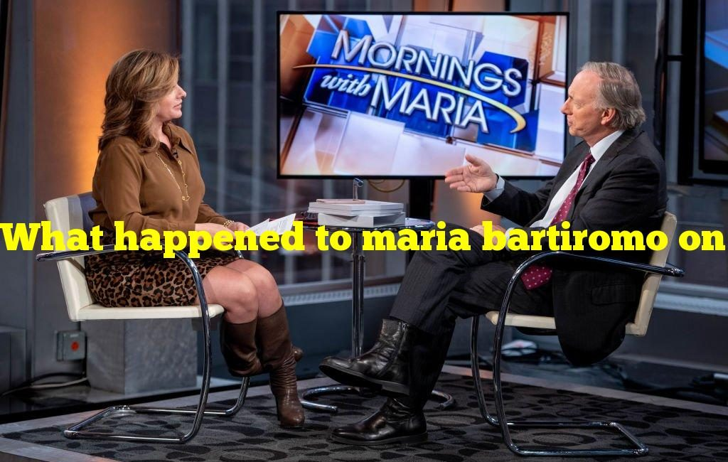 What happened to maria bartiromo on fox news?