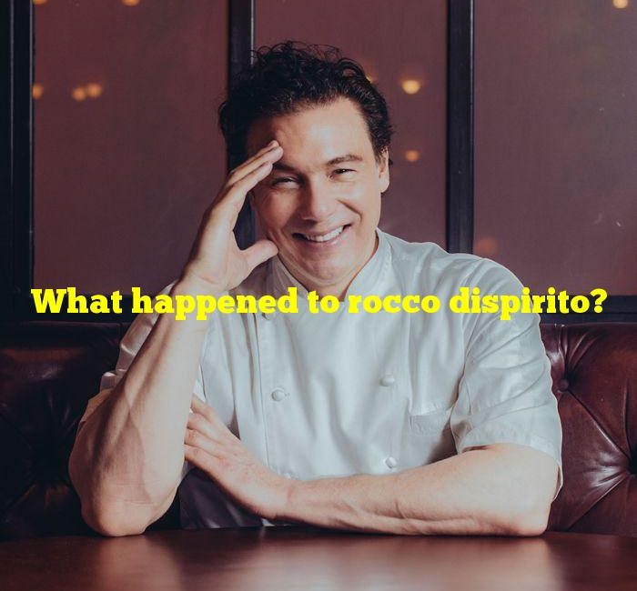 What happened to rocco dispirito?
