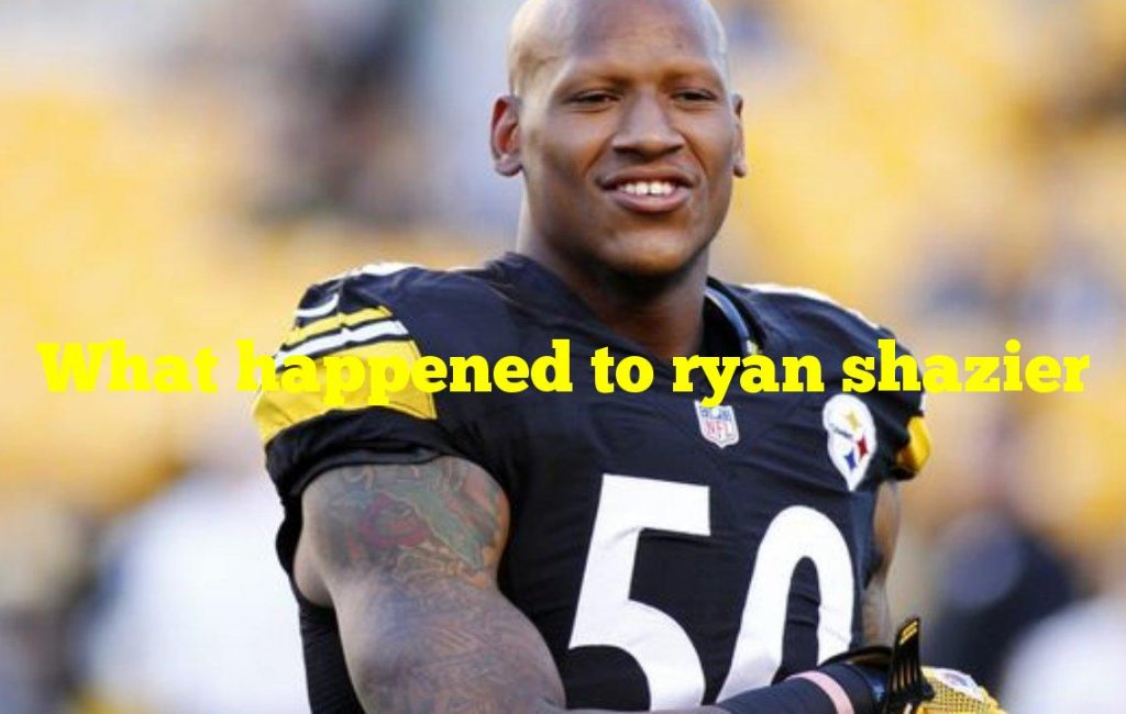 What happened to ryan shazier