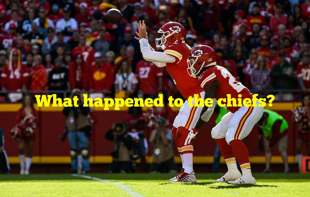 What happened to the chiefs?