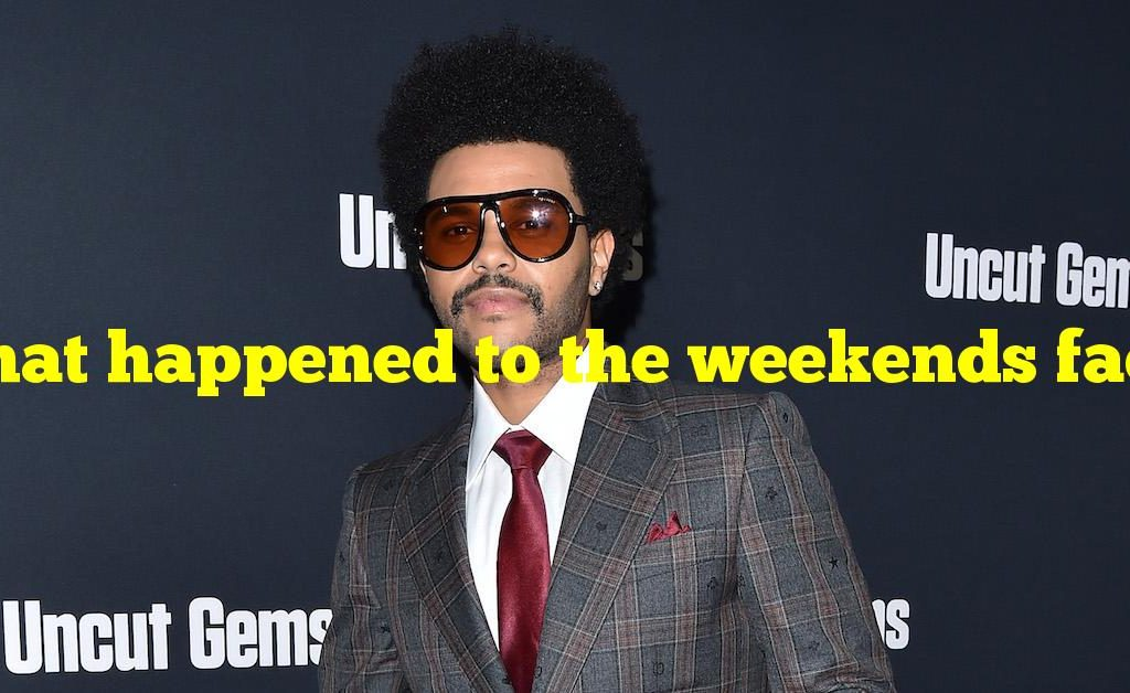 What happened to the weekends face november 2020?