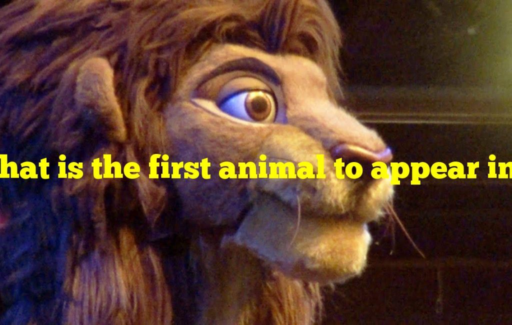 "What is the first animal to appear in Disney's ""The Lion King""?"