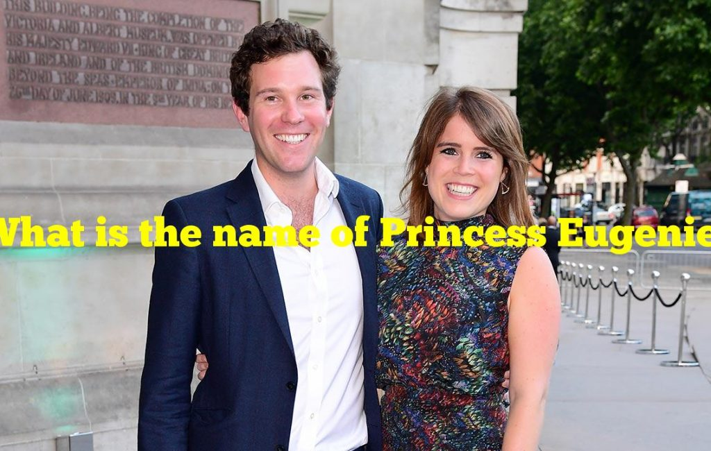 What is the name of Princess Eugenie's baby son?