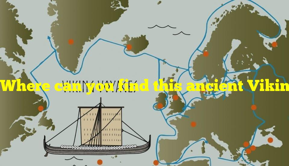 Where can you find this ancient Viking settlement?