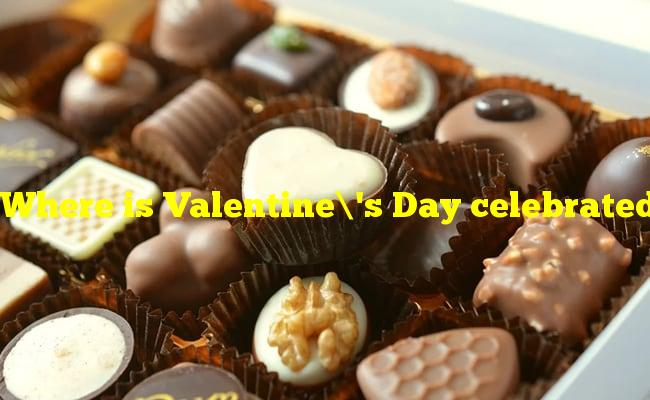Where is Valentine's Day celebrated by having women give men chocolate?
