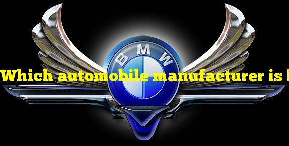 """Which automobile manufacturer is known as """"the ultimate driving machine""""?"""