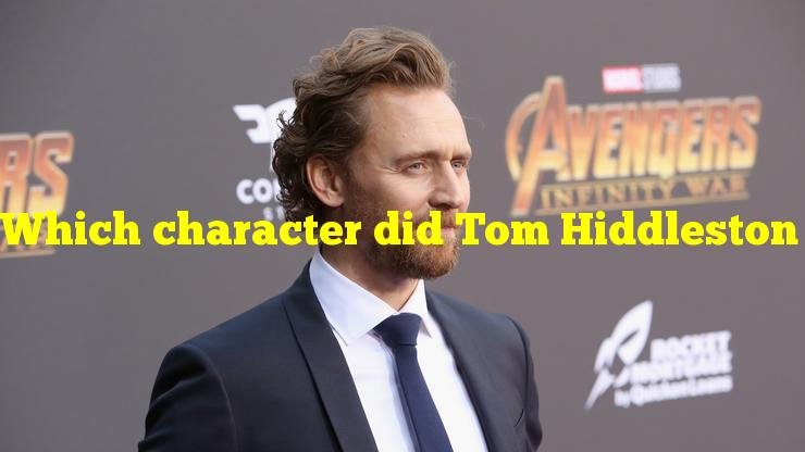 Which character did Tom Hiddleston audition for before he was cast as Loki?