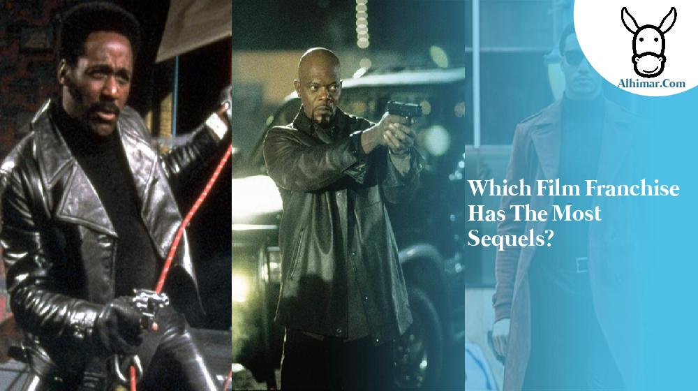 Which film franchise has the most sequels?