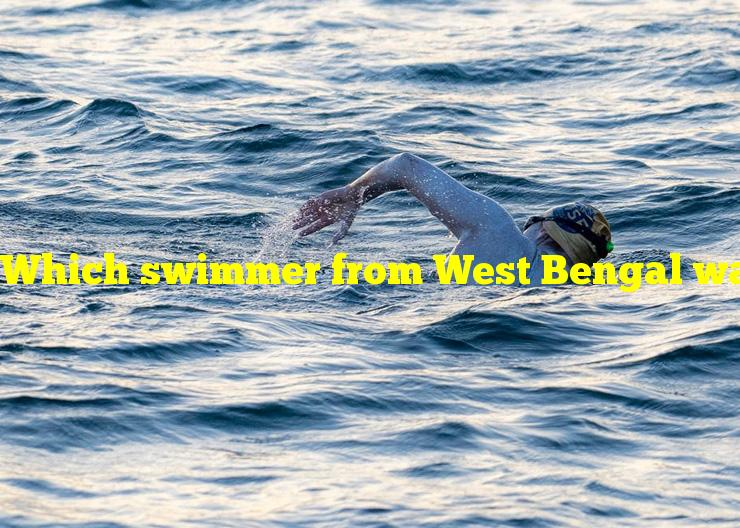 Which swimmer from West Bengal was the first Indian to cross the English Channel