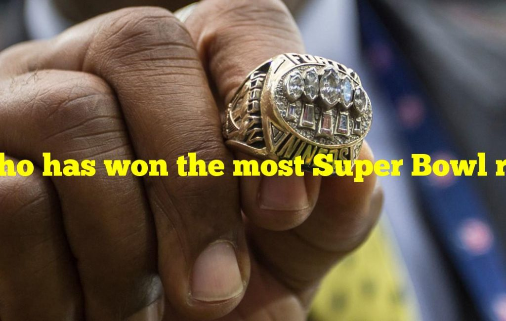 Who has won the most Super Bowl rings as a player?