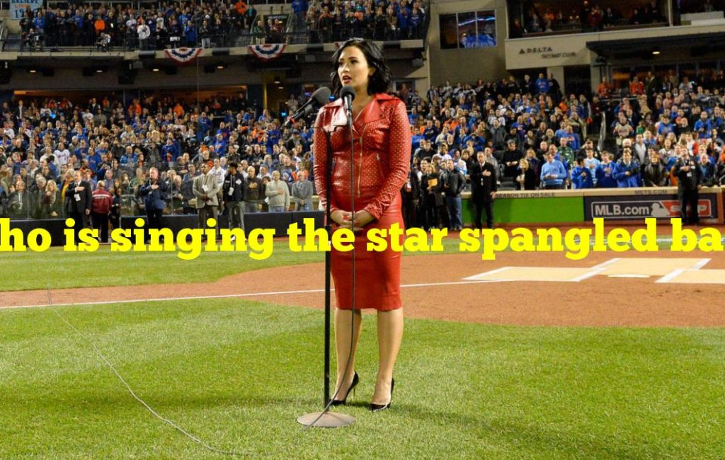 Who is singing the star spangled banner at super bowl 2021