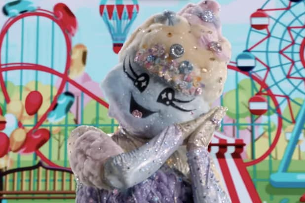 Who is the cotton candy on the masked dancer?