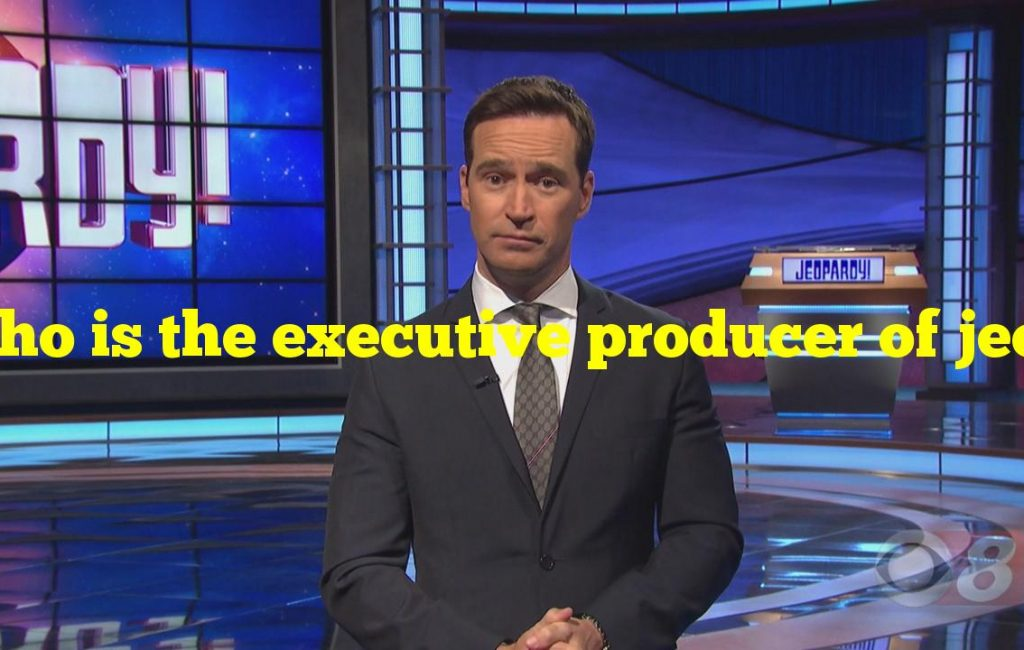 Who is the executive producer of jeopardy