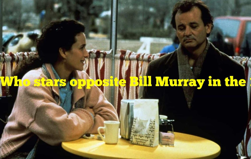 """Who stars opposite Bill Murray in the 1993 movie 'Groundhog Day'? """"Andie MacDowell"""