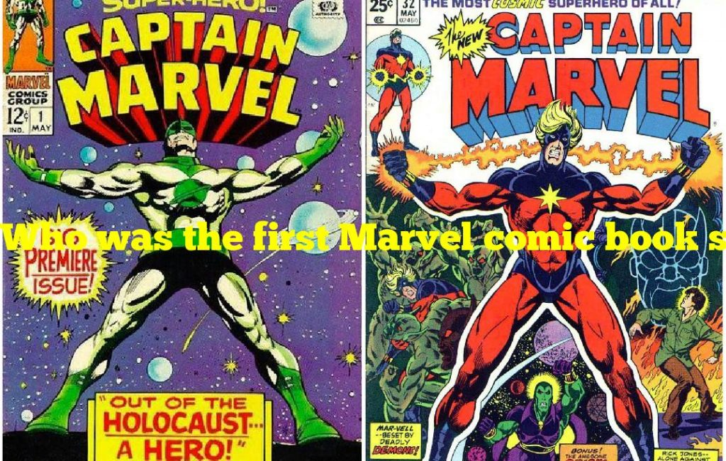Who was the first Marvel comic book superhero?
