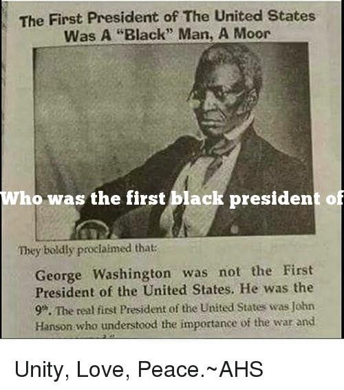 Who was the first black president of the united states