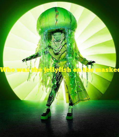 Who was the jellyfish on the masked singer?