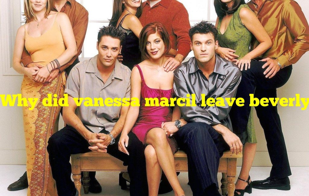 Why did vanessa marcil leave beverly hills 90210?