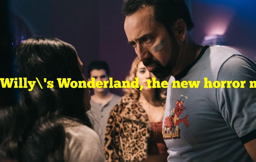 Willy's Wonderland, the new horror movie starring Nicolas Cage, dropped on February 12