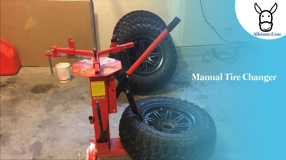 manual tire changer