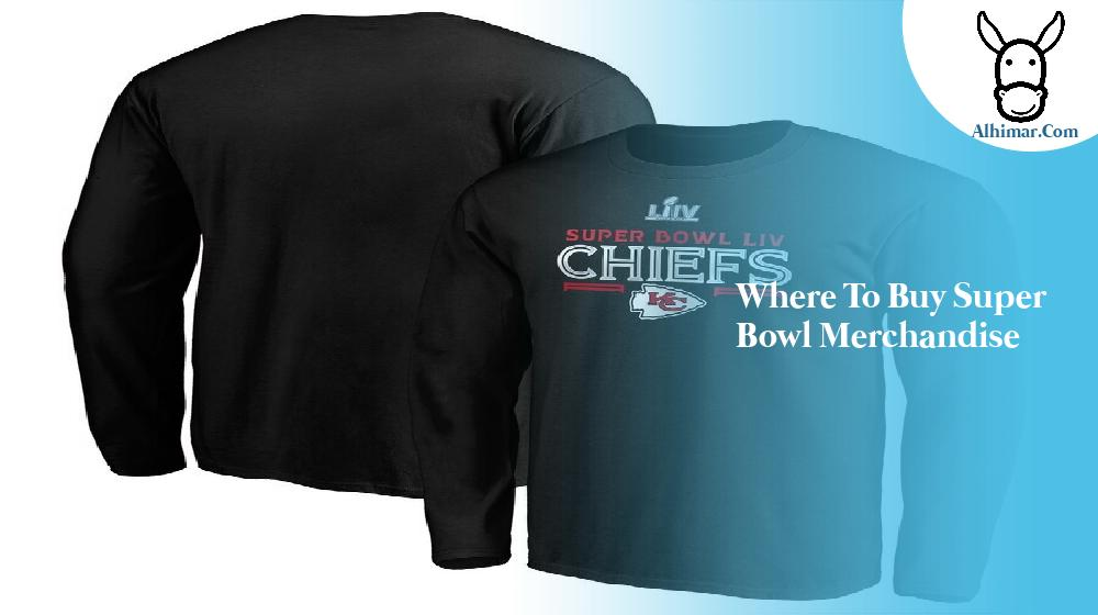 where to buy super bowl merchandise