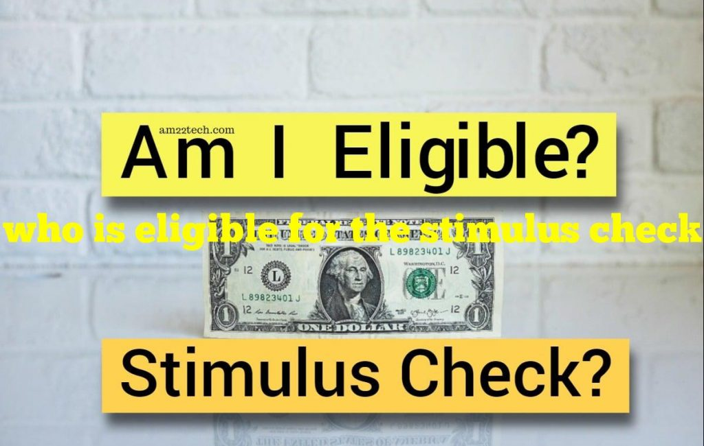 who is eligible for the stimulus check