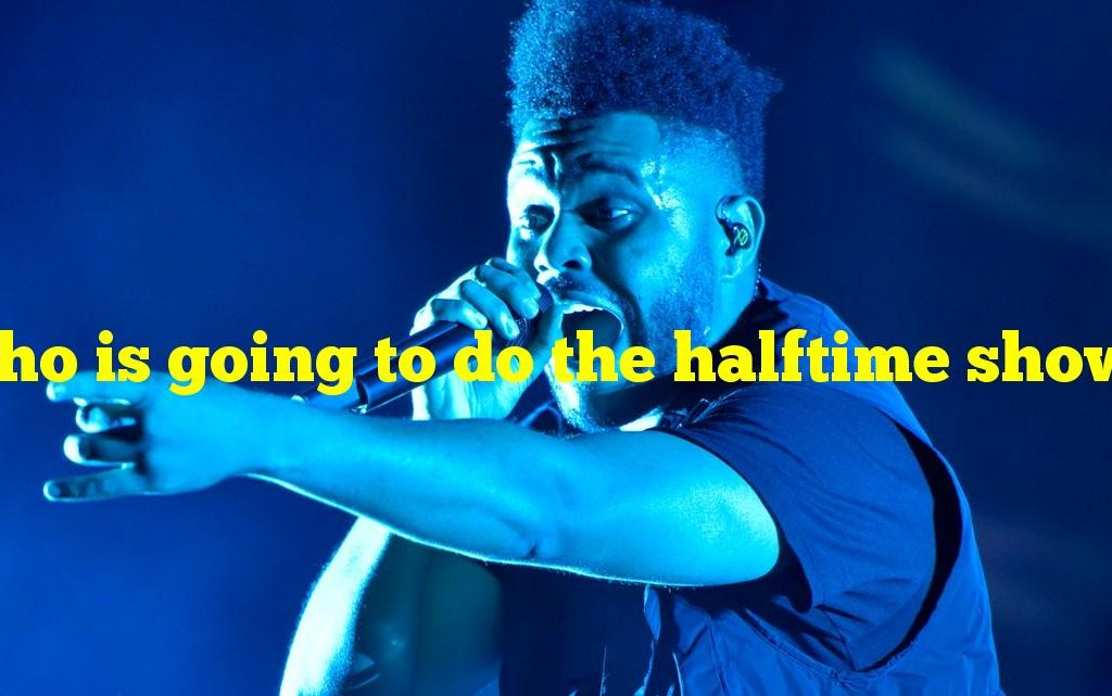 who is going to do the halftime show 2021