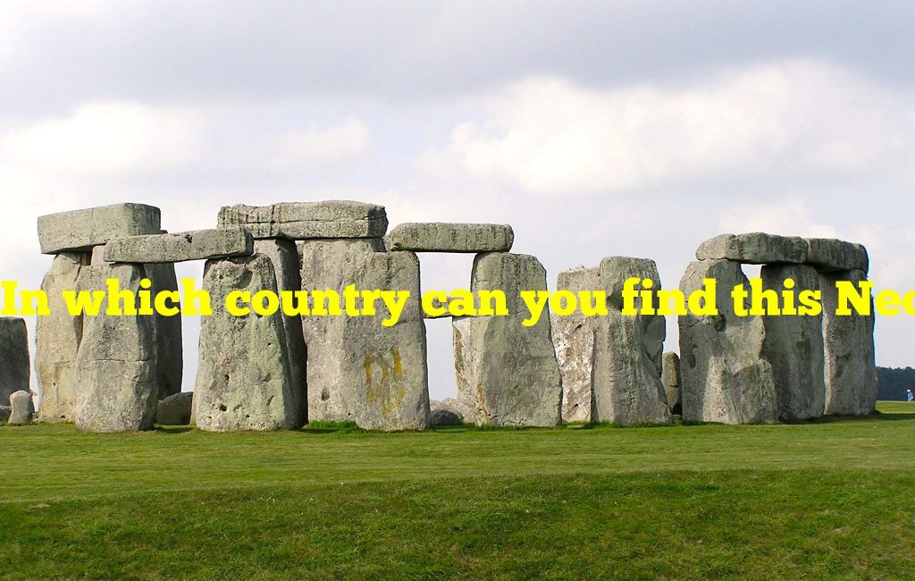 In which country can you find this Neolithic stone circle?