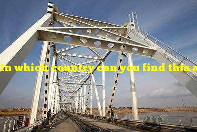 In which country can you find this asymmetrical bridge?