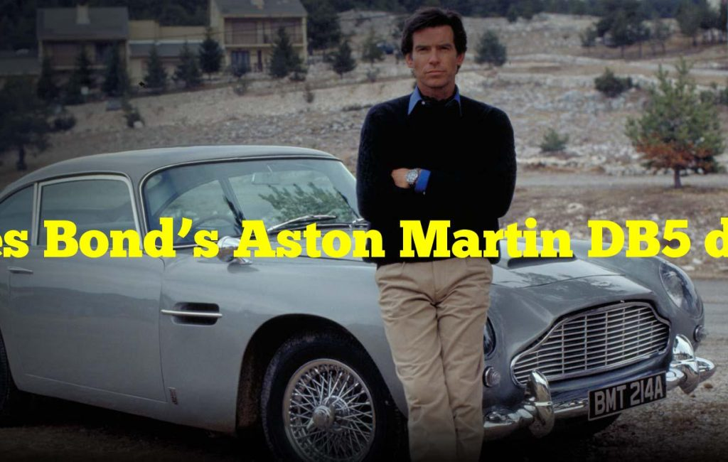 James Bond's Aston Martin DB5 debuted in which film?