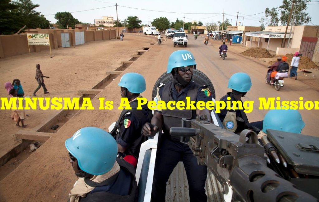 MINUSMA Is A Peacekeeping Mission By The UN In Which Country?