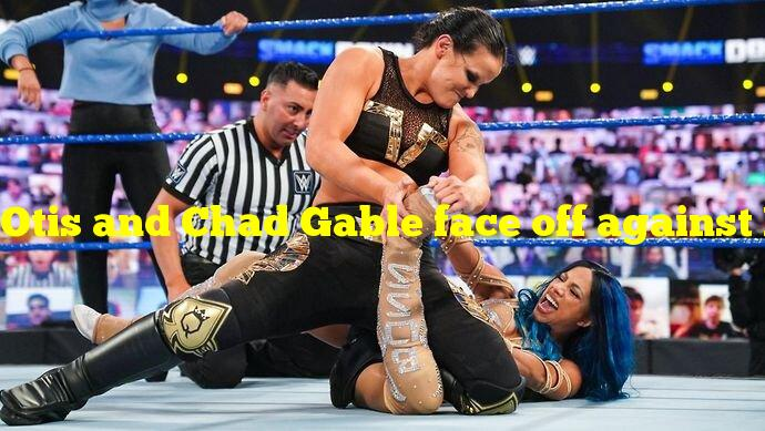 Otis and Chad Gable face off against Rey Mysterio and Dominik Mysterio on WWE SmackDown