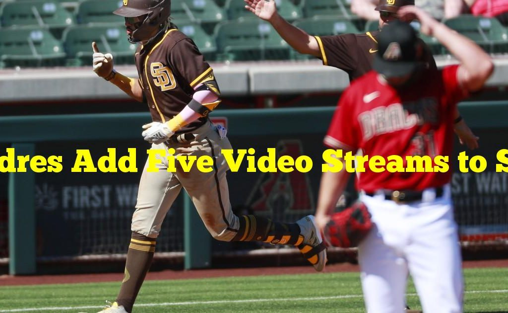 Padres Add Five Video Streams to Spring Training Broadcast Schedule