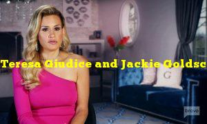 Teresa Giudice and Jackie Goldschneider continue their feud in a new episode of The Real Housewives of New Jersey